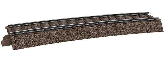TRIX 62315 Gebogenes Gleis für 62771 + 62772 | 1 Stück C-Gleis | Spur H0