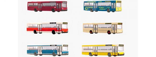 MINITRIX 65400 Omnibus-Display | 12 Stück | Spur N 1:160
