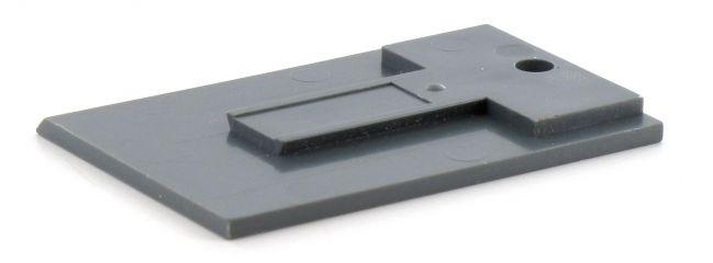 TRIX 66472 Gleisbild Stellpult Außenecken | 4 Stück | Spur H0