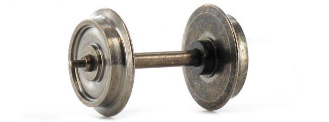 TRIX 66651 Radsatz 11mm Metall DC | 1 Stück | Spur H0