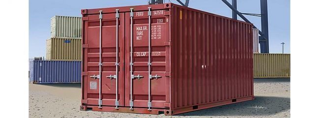 TRUMPETER 01029 Container 20ft. | Bausatz 1:35