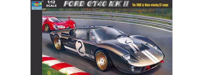 TRUMPETER 05403 Ford GT40 MK.II Le Mans 1966 | Auto Bausatz 1:12