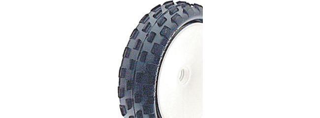 CS-electronic U6592 Vorderreifen Stagger Rib Yellow Slim 1/10 OffRoad