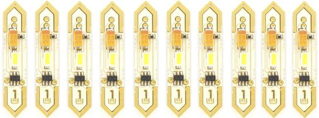 Uhlenbrock 29013 LED-Soffitten reinweiß | Inhalt: 10 Stück