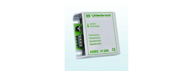 Uhlenbrock 41200 ABBS Anfahr-Bremsbaustein analog