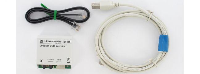 Uhlenbrock 63130 LocoNet USB-Interface | für Programmierung von Modulen