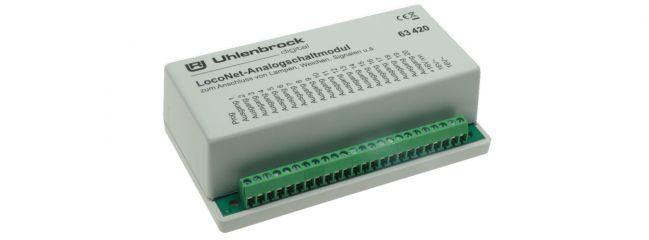 Uhlenbrock 63420 LocoNet-Analog-Schaltmodul
