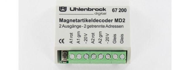 Uhlenbrock 67200 MD2 Magnetartikeldecoder