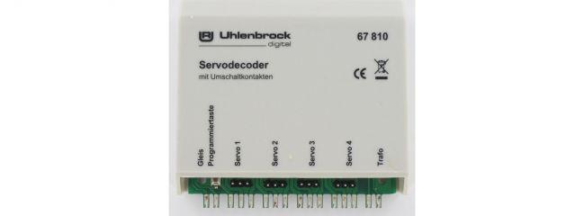 Uhlenbrock 67810 Servodecoder mit Schaltkontakten