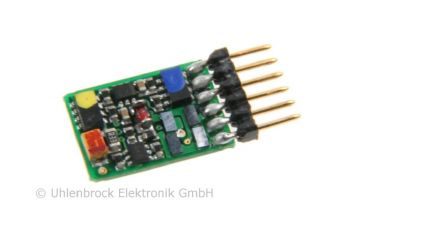 Uhlenbrock 73415 ID2 Minidecoder | 6 Pol | DCC/MM | Spur N