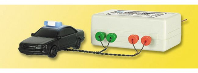 Viessmann 5029  Blaulichtbalken mit Blinkelektronik Spur H0