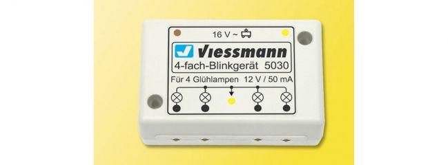Viessmann 5030 Vierfach-Blinkgerät für Einsatzfahrzeuge Spur H0
