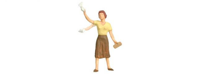 Viessmann 1555 Winkende Frau mit bewegtem Arm eMotion   Spur H0