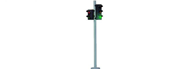 Viessmann 5095 Verkehrsampel mit Fußgängerampel LEDs | Beleuchtung Spur H0