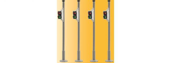Viessmann 5096 Fußgaengerampel 4 Stueck passend zu 5095 Fertigmodell 1:87