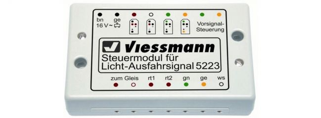 Viessmann 5223 Steuermodul für Ausfahrsignal