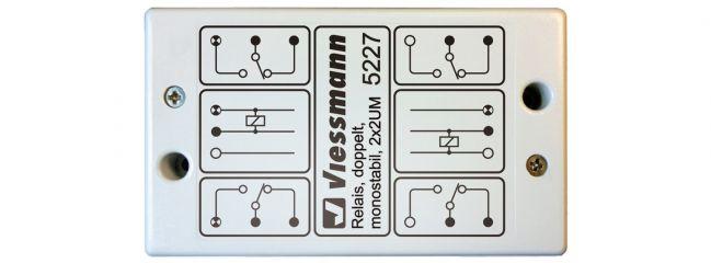 VIESSMANN 5227 Relais monostabil 2x 2UM negativer Schaltimpuls Zubehör Anlagenbau