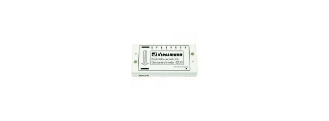 Viessmann 5233 Rückmeldedecoder/Gleisbesetzt für DC