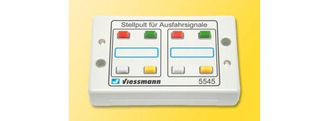 Viessmann 5545 Tasten-Stellpult Ausfahrsignale