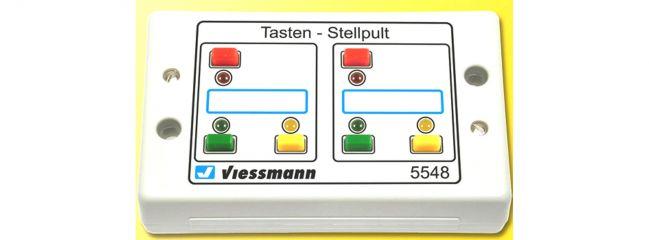 Viessmann 5548 Tasten-Stellpult rückmeldefähig 3-begriffig