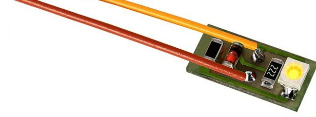 Viessmann 6006 Hausbeleuchtung mit 1 LED | warmweiss | 10 Stück
