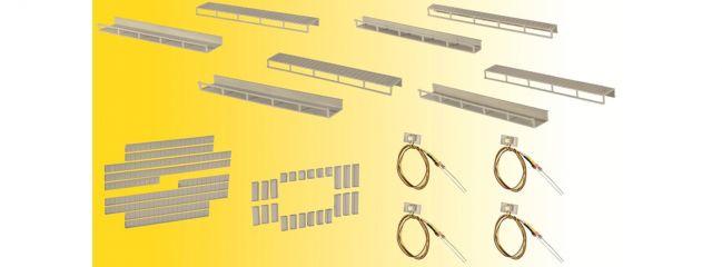 Viessmann 6045 Startset Etageninnenbeleuchtung   mit 4 weißen LEDs   Spur H0