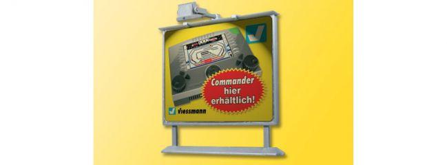 Viessmann 6336 Werbetafel mit LED-Beleuchtung Spur H0