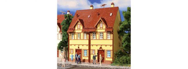 VOLLMER 43844 Reihen-Doppelhaus (gelb) Bausatz Spur H0
