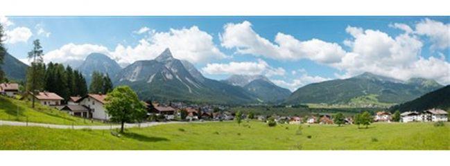 VOLLMER 46106 Hintergrundkulisse Alpenvorland 3teilig  Spur H0