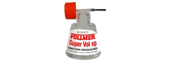 ausverkauft | VOLLMER 6117 Klebstoff Super Vol xp (Kleber auch für Bio Kunststoff)