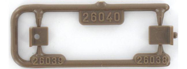 VOLLMER 8002 MASTHALTER | 2 Stück | Oberleitung Spur N