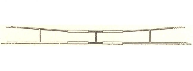 VOLLMER 8017 UNTERBRECHERGARNITUR | Oberleitung Spur N