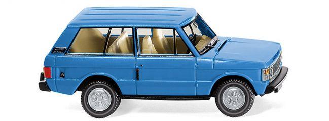 WIKING 010502 Range Rover  blau Automodell 1:87