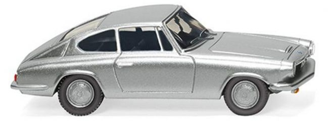 WIKING 018702 BMW 1600 GT Coupe silber | Automodell 1:87