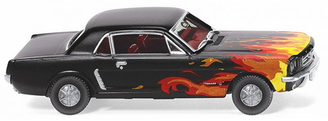 WIKING 020503 Ford Mustang Coupé - schwarz | 1:87