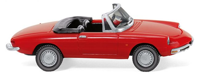 WIKING 020601 Alfa Spider - rot | 1:87