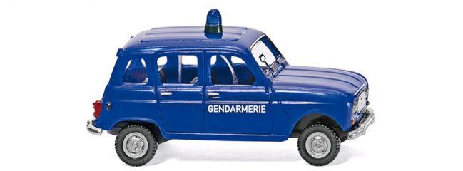 WIKING 022404 Renault R4 Gendarmerie | Automodell 1:87