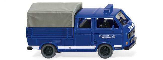 WIKING 029307 THW - VW T3 Doppelkabine | 1:87