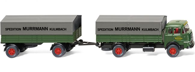 WIKING 048601 Pritschenlastzug | Krupp 806 | Lkw-Modell 1:87