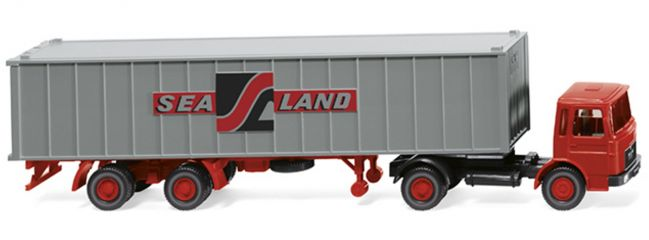 WIKING 052304 Containersattelzug (MAN)   1:87