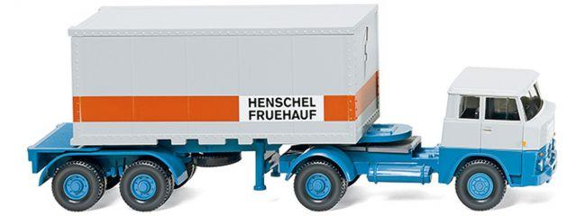 WIKING 052601 Henschel HS Containerszg Fruehauf   LKW-Modell 1:87