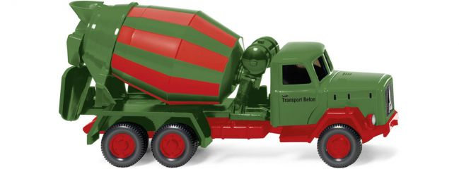 WIKING 068252 Betonmischer (Magirus Saturn) Transport Beton | Modell-Baumaschine 1:87