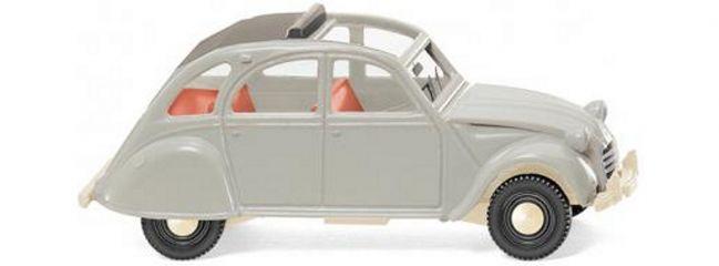 WIKING 080914 Citroen 2 CV achatgrau | Modellauto 1:87