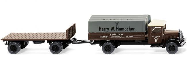 WIKING 084201 MB L2500 Pritsche Hamacher Möbelspedition | LKW-Modell 1:87