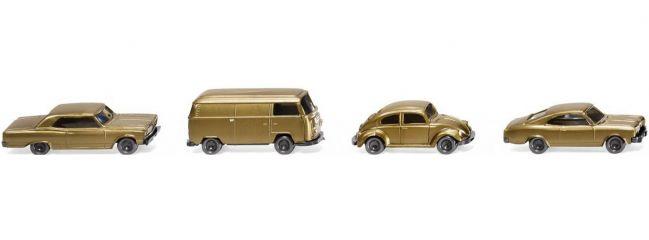 WIKING 091006 Drei Pkw und ein Kleinbus | Modellautos 1:160