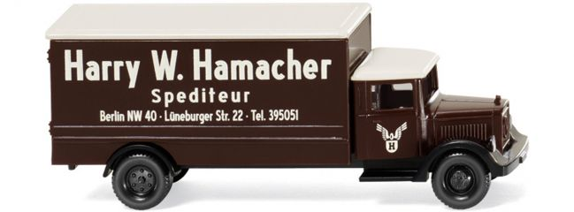 WIKING 094407 MB L 2500 Koffer Hamacher | LKW-Modell 1:160