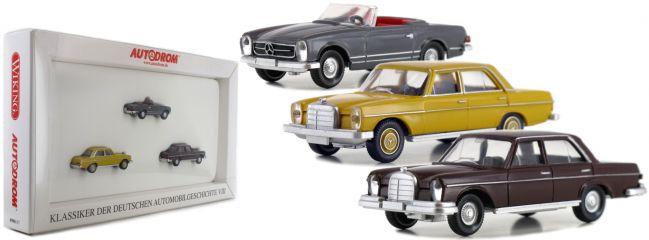WIKING 099087 Set Klassische Automobile VIII | Mercedes | Modellautos 1:87