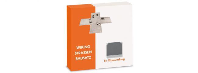 WIKING 119904 Strassen Bausatz - Einmündung - Spur H0 1:87