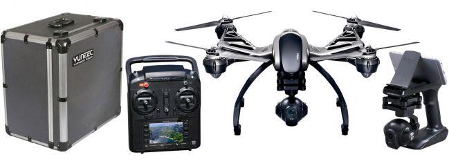 YUNEEC Q5004K Typhoon Copter 2.4GHz FPV RTF   Set mit Alu-Koffer   RC Drohne online kaufen