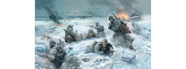 ZVEZDA 3627 Deutsche Infanterie Winter 41/42 | Militär Bausatz 1:35